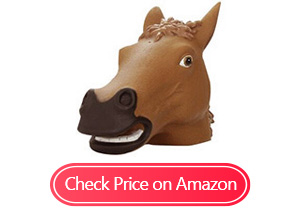 accoutrements horse head squirrel feeders