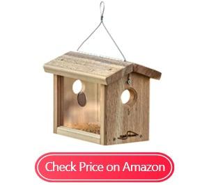 kettle moraine cedar hanging bluebird feeders