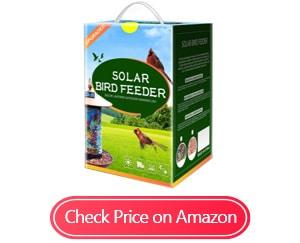 xdw-gifts solar bird-feeders